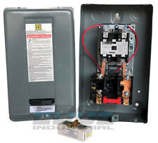 Ingersoll Rand Square D Magnetic Starter 75hp Single Phase 208 240 Volt