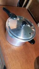 Presto Stainless Steel Pressure Cooker 409A 6 Quart w/ Jiggler