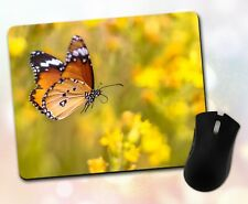 Butterfly Mouse Pad • Flying Colorful Wings Gift Decor Desk Accessory