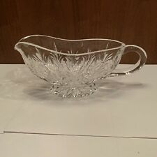 Marquis By Waterford - Crystal Canterbury Gravy Sauce Boat