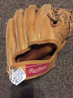 Vintage Rawlings Ken Boyer  Baseball Glove Trapeze Signed By Ken Boyer   Mitt