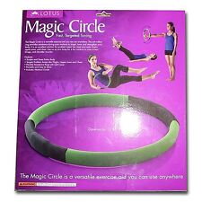 Lotus Magic Circle Arm Hoop and Exercise Chart for Fast Targeted Toning*