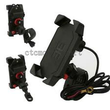 Motorcycle Cell Phone Holder Mount with USB Charger For Harley Davidson Touring