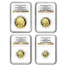 2008-W 4-Coin Proof Gold Buffalo Set PF-70 NGC - SKU #57077