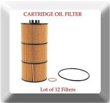 Lot of 12 Engine Oil Filter V57909 Fits:Freightliner Western Star Detroit Diesel