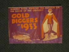 Gold Diggers Of 1933  - Original Movie Herald - Blondell -Powell- Keeler -Rogers