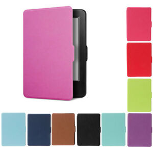 Flip Smart Case Cover For Amazon Kindle (8th Generation -2016 Model) 6'' eReader