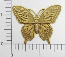 35073 Victorian Butterfly Jewelry Finding Stamping  Brass Oxidized