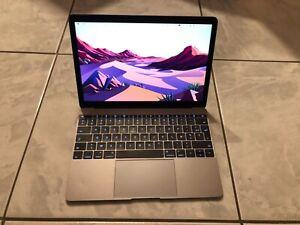 MacBook 12 pouces gris sidéral