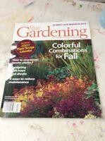 Vintage Magazine Taunton Fine Gardening November December 2006