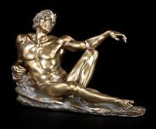Schöpfung der Menschheit I - Adam Figur - Veronese Michelangelo Gott Statue