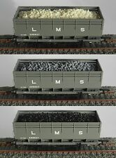 RESIN COAL LOAD FOR HORNBY OO GAUGE LMS 20 TON COKE HOPPER WAGON
