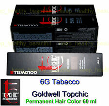 Goldwell Topchic Permanent Hair Color 60 Ml 8g Gold Blonde Post