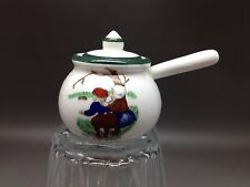 Vintage Miniature Saucepan By Swan China