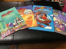Disney Little Golden Books Ducktales 1987-88 & Darkwing Duck (1991) Vintage Set