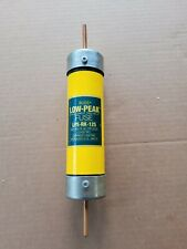 New Buss LPS-RK-125 Low-peak Duel Element Time-delay Fuse Class RK1
