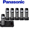 Panasonic KX-TGE446B Expandable Cordless Phone with Enhanced Noise Reduction