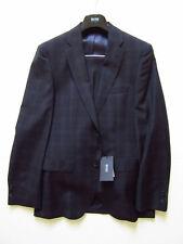 NWT Hugo Boss Super 100 Virgin Wool Johnstons/Lenon Suit (Navy; Size 38R) $795