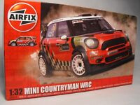 Airfix 1:32 Scale MODEL MINI COUNRTYMAN RED plastic construction model kit WRC
