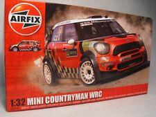 Airfix 1:32 Scale MODEL MINI COUNRTYMAN RED plastic construction model kit WRC