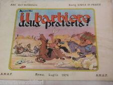 IL BARBIERE DELLA PRATERIA Jacovitti ANAF Lisca di pesce 1974 fumetto libro di
