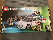 Lego 21108 Ideas Ghostbusters Ecto 1 brand new sealed box 4 minifigures rare