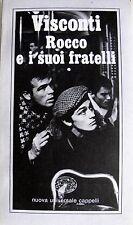 LUCHINO VISCONTI ROCCO E I SUOI FRATELLI CAPPELLI 1978