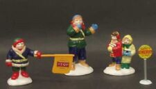 """Dept 56 Sv Lot """"Safety Patrol"""",""""School Bus And Snow Plow"""", """"School'S Out!"""" - Nib"""