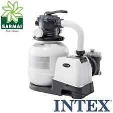 Pompa Intex 26646 filtro a sabbia 7900 l/h a 6 vie per piscina fuori terra