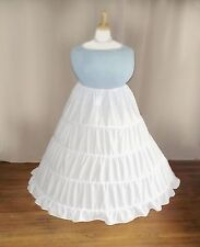 Plus Size Victorian/Civil War+ Pirate + Ren Faire Hoop Skirt 1X 2X 3X 4X 5X
