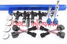 NEW! SR20DET S13 Top Feed Fuel Rail Conversion kit W/ BOSCH 550cc Fuel Injectors