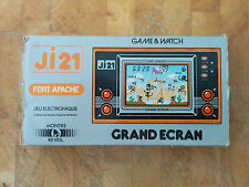 rare!! **JI21** FIRE ATTACK French!! NINTENDO 1981 GAME AND WATCH (FORT APACHE)