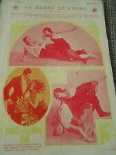 La Danse de l'Ours Art Print