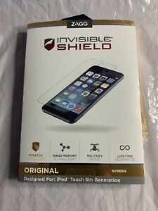 ZAGG INVISIBLE SHIELD FOR IPOD TOUCH 5th GENERATION