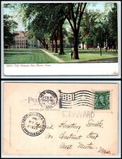 CONNECTICUT Postcard - 1907 New Haven, Yale Campus P24