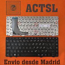 KEYBOARD SPANISH for Hp Probook 6360B Black Frame Black