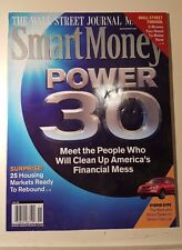 SMART MONEY MAGAZINE NOVEMBER 2008