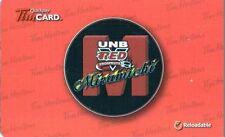 "2014 UNB RED Prospects Miramichi Tim Hortons Tim Quickpay Gift Card ""NO VALVE"""