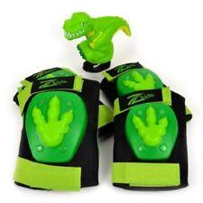 Dinosaur Stompin Fun Pack Protective Knee & Elbow Pads & Dino Squeaker Bike Gear
