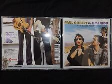 CD PAUL GILBERT & JIMI KIDD / RAW BLUES POWER /