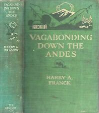 RARE 1917 SOUTH AMERICA ANDES PANAMA TO BUENOS AIRES ARGENTINA ILLUSTRATED FIRST
