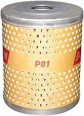 Baldwin P81 Shunt-Type Lube Element Oil Filter