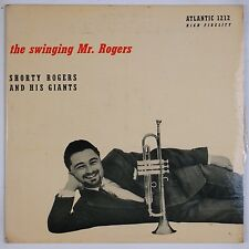 SHORTY ROGERS AND GIANTS: The Swinging Mr. Rogers ATLANTIC 1212 '55 Orig LP