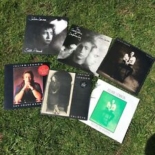 "Julian Lennon Vinyl 12"" LP/Single Bundle: Secret Value of Daydreaming, Valotte"