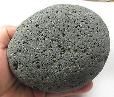 HUGE Lava Basalt Kali Goddess Perdoit Citrine Pleiadian Light Stone Crystal 1