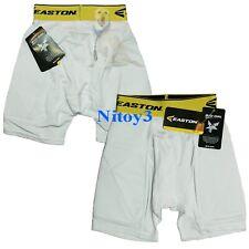 Easton Womens M7 Fastpitch Softball Sliding Shorts A164907 White Black