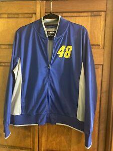 Nascar #48 Jimmie Johnson G-III 4her Women's Full-Zip Track Jacket Carl BanksXL