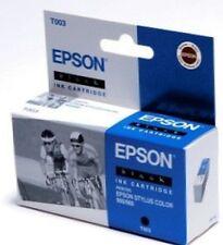 EPSON t003 Inchiostro Black Nero per Stylus Photo Color 900 980 c13t00301110 B OVP