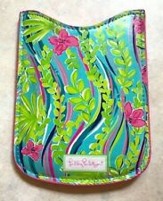 Lilly Pulitzer Cell Phone Pouch Blackberry Pink Nice To See You Blue