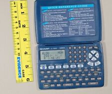 Sharp Memo Master El-6800 Electronic Organizer Phone Book Pda 3 Line 34kb